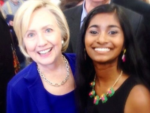 Indian-American girl becomes youngest delegate at DNC