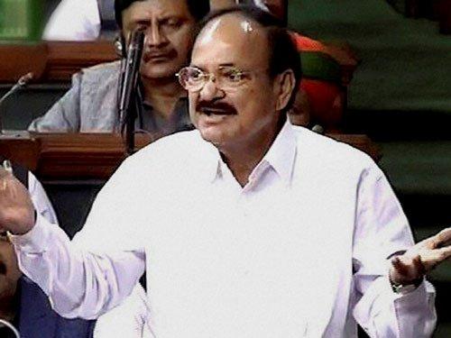 Naidu's oneliner in Lok Sabha triggers peel of laugher