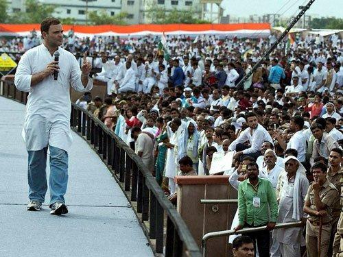 Rahul trains guns on Modi govt yet again