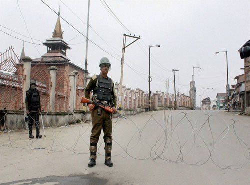 Curfew remains in force in some parts of Kashmir Valley
