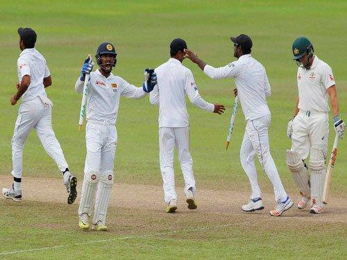 Lanka script stunning win