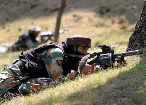2 militants, soldiers killed in gunfight at LoC