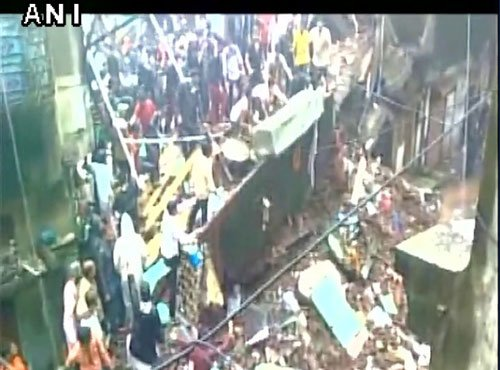 9 killed, 10 injured as building collapses in rain-hit Thane