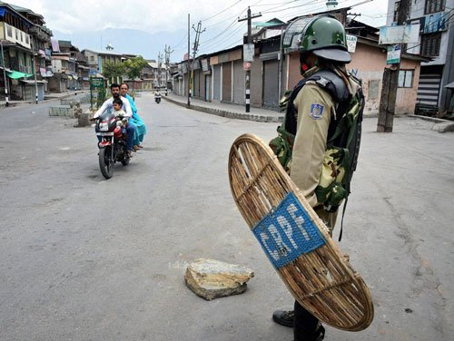 Death toll in Kashmir clashes rises to 49; curfew continues