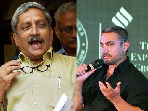 Cong attacks Parrikar over remarks against Aamir Khan