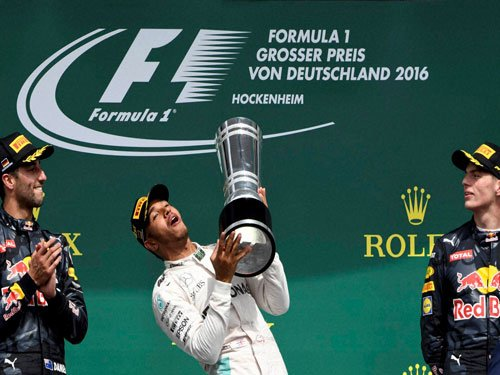Formula One: Hamilton surges clear with Germany victory
