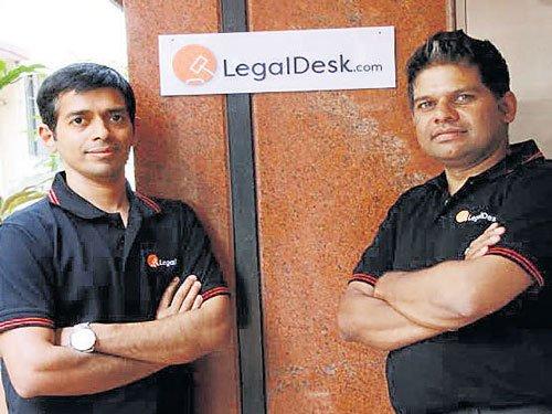 LegalDesk makes legal documentation quick, simple