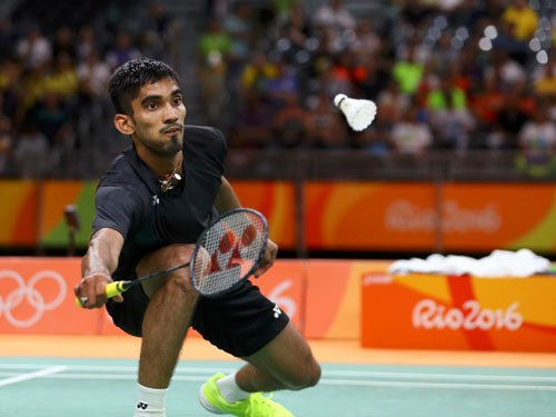 Srikanth's fight ends with loss against Lin Dan