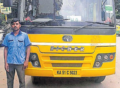 Two school bus drivers booked for drunk-driving