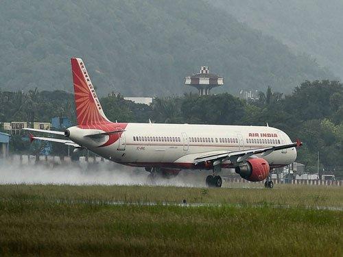 AI plane wing nearly hits passenger coach at Jabalpur airport