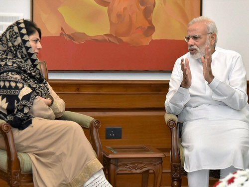 Mehbooba for talks with stakeholders