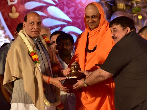 Water for all farm lands, says Rajnath