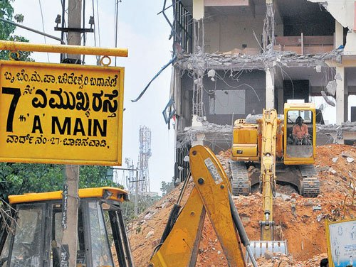 Govt moots rehab plans for owners of razed houses