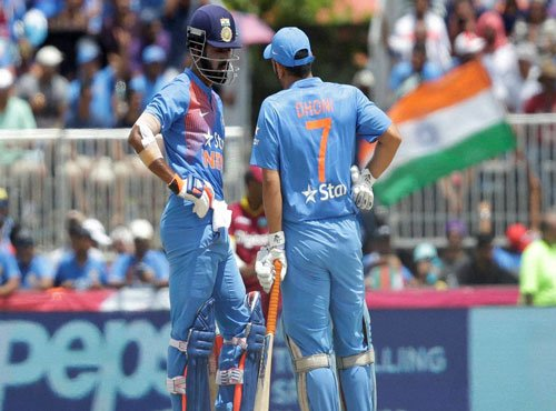 Dhoni admits execution of his last ball dismissal wrong