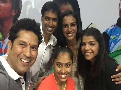 Sachin lauds Rio winners, hopes journey doesn't stop here