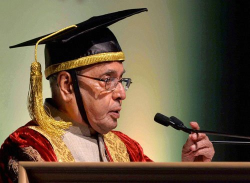 Study Constitution well, understand democratic process: Prez to law students