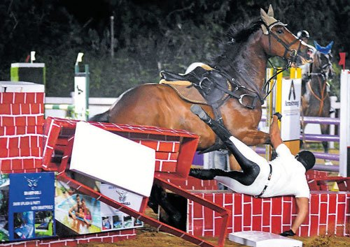 Clinical Dewan signs off with a gold in Puissance