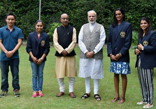 Three super girls conferred Khel Ratna along with Jitu Rai