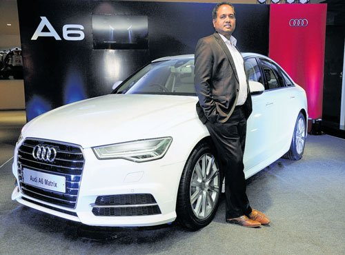 Audi launches petrol-powered A6 Matrix priced at Rs 52.75 lakh