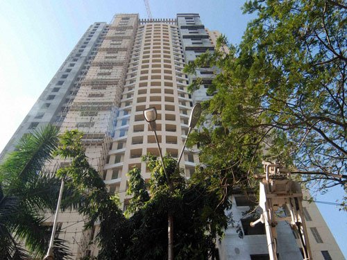 Adarsh flats not taken over, Centre tells SC