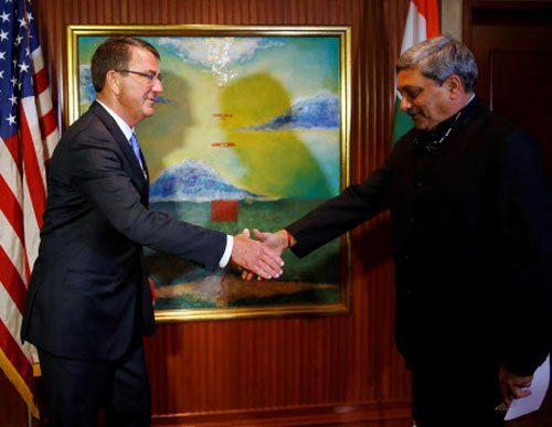 India, US sign pact to use military assets, bases