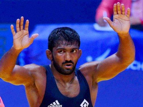 Yogeshwar's London bronze gets a silver lining