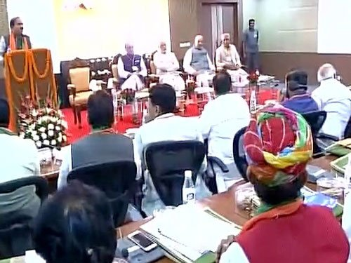 Bring poor, weaker sections to party fold, Modi tells BJP's RS MPs