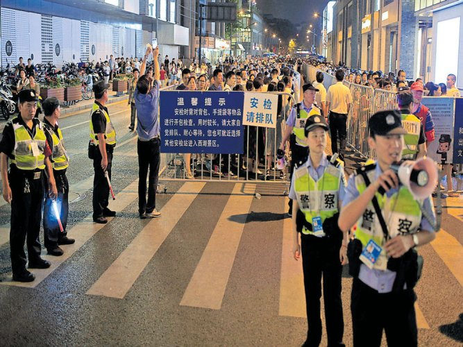 Ahead of G20 meet, China tightens security