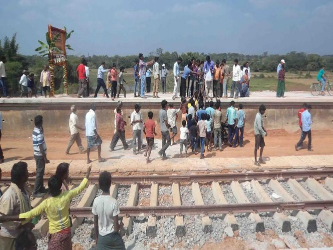 Work on B'luru-Hassan rail line comes to halt for want of land