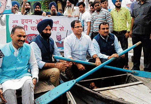 Parties pass the buck as city suffers due to waterlogging