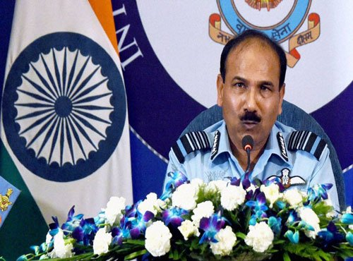 Military solution would have solved PoK issue:IAF chief