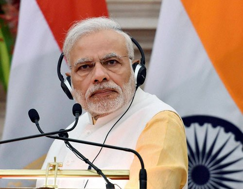 Dalit issue: PM asks politicians to shun irresponsible statements