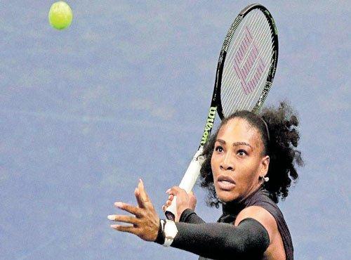 Super Serena powers through