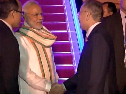Modi touches down in China for G20, bilateral meeting with Xi