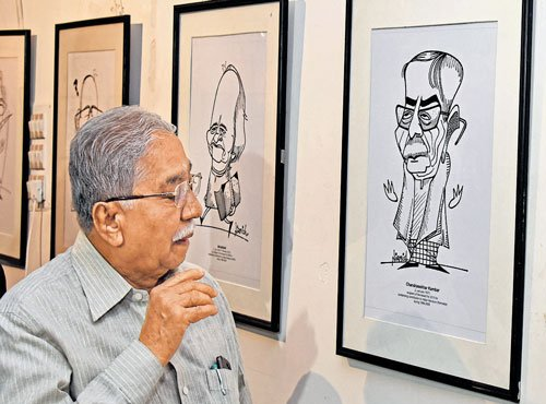 Cartoonist pays tribute to literary giants through caricatures
