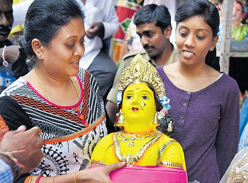 This time, head to National  College grounds for Ganesha Utsava