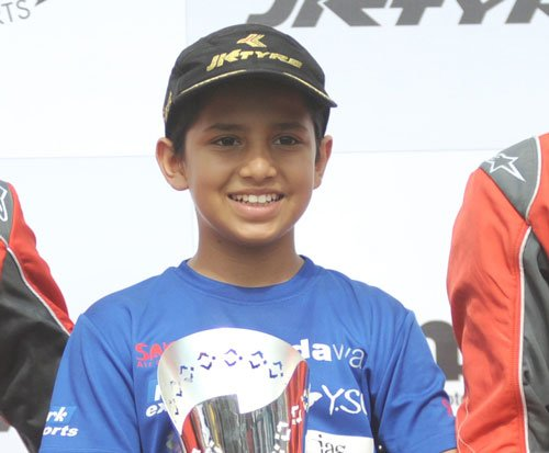 Shahan becomes first Indian to win Asian Karting Championship