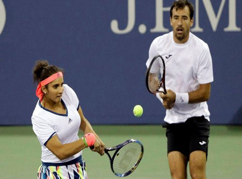 Sania-Dodig out of mixed doubles at the US Open