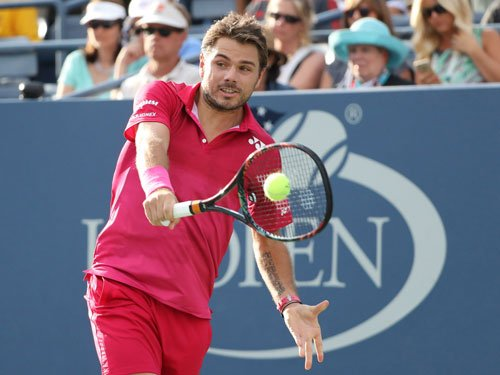 Serena soars, Wawrinka prevails