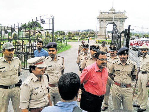 Cauvery issue: Security beefed up at KRS dam