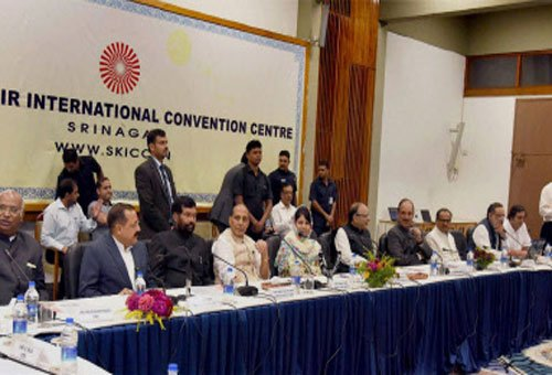All-party delegation interacts with civil society members