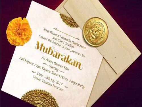 'Mubarakan' to release on July 28, 2017