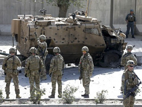 Kabul charity attacked as toll from violence hits 25