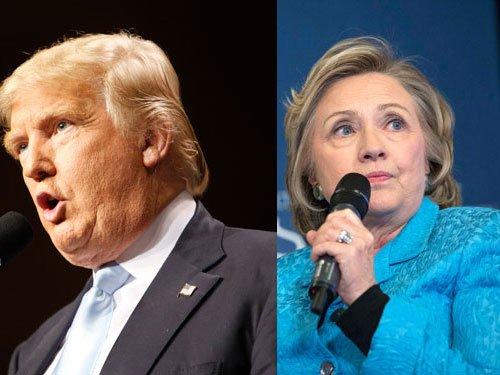 Trump, Clinton begin final sprint to November