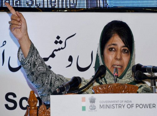 Mehbooba welcomes resolution