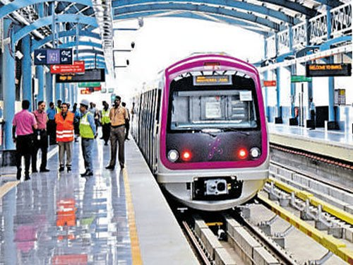 'Open A Door to Israel' at  MG Road Metro station