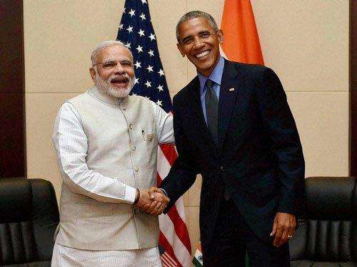 US strongly supports India's NSG bid: Obama tells Modi
