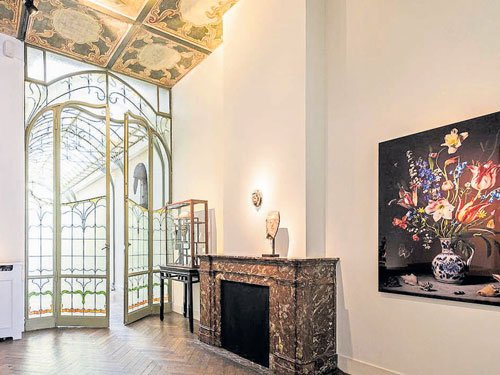 Home With An Art Nouveau Appeal Deccan Herald
