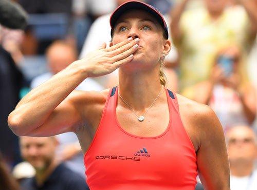 Kerber downs Wozniacki, faces Pliskova for US Open title
