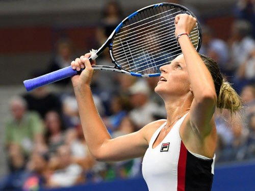 It's just a game for Pliskova